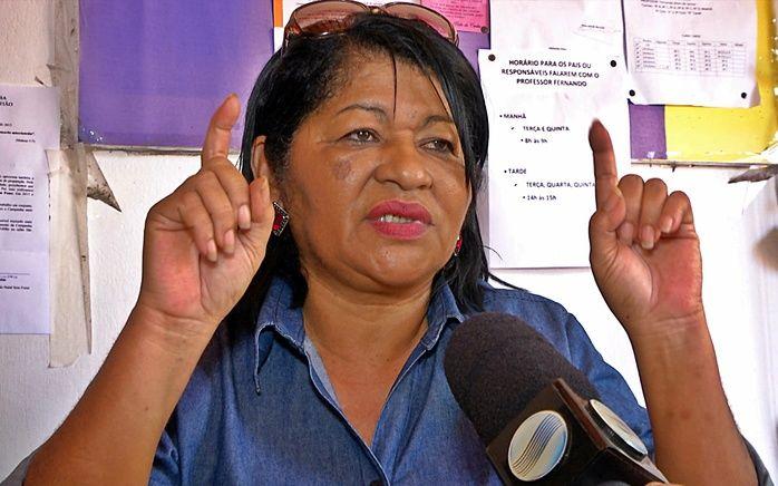 Lúcia Nascimento, diretora da Escola Municipal Roland Jacob. (Foto: João Júnior / Rede Meio Norte)