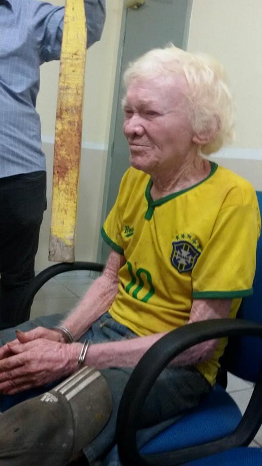 João Batista foi preso acusado de matar a mãe (Crédito: Reprodução)