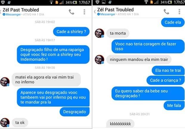 Amiga do facebook messenger brasileira 9