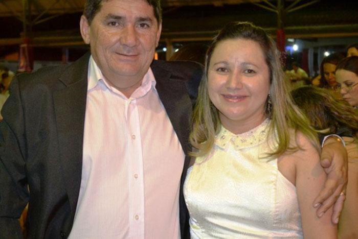 Ex-prefeito de Lagoa do Sítio e sua esposa Gercineide Monteiro
