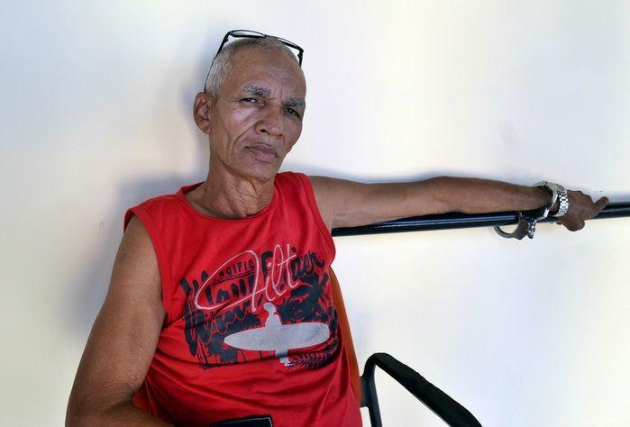 Manoel Pereira Lopes, de 62 anos. (Foto: Kairo Amaral)