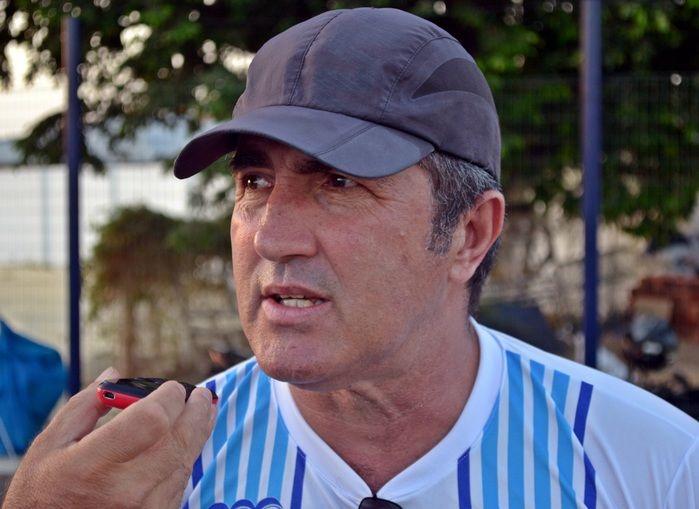 Técnico do Parnahyba, Paulo Ricardo Moroni. (Foto: Kairo Amaral)