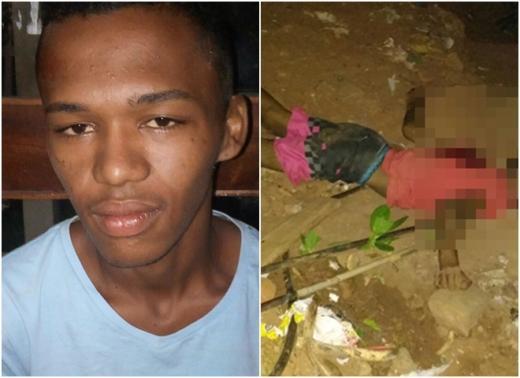 Menor foi assassinado a facadas e tiros