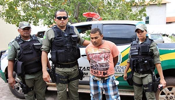 Claudemir foi preso acusado de assalto