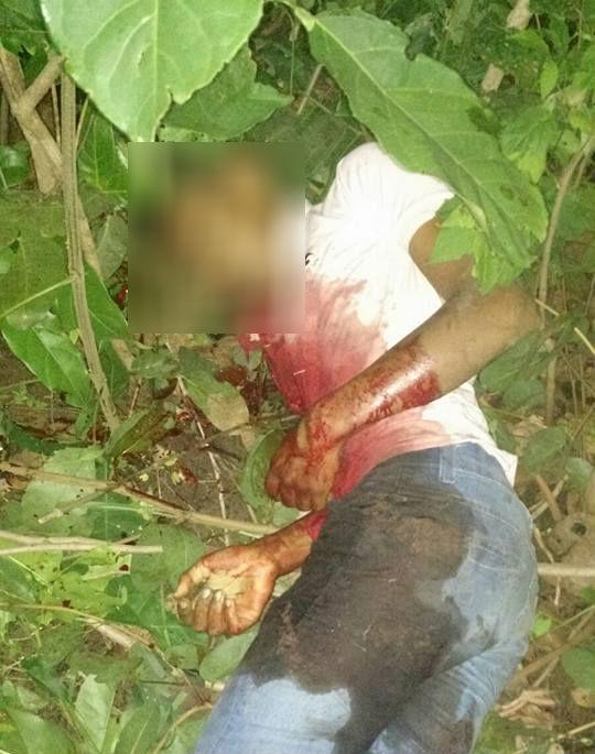 Assaltante foi morto no povoado Gameleira