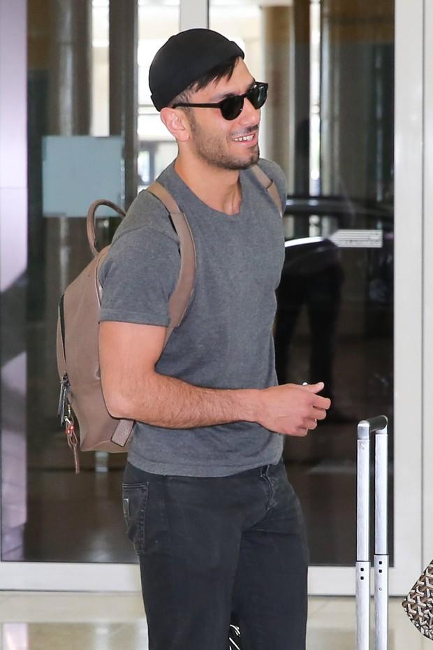 Namorado de Ricky Martin também está no Brasil (Crédito: Ego)