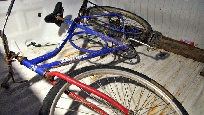 Bicicleta utilizada pelo acusado foi abandonada próximo ao local do crime.