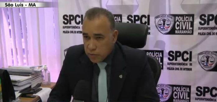 Superintendente da Polícia do Interior no Maranhão, Jhaligson Freire (Crédito: Rede Meio Norte)