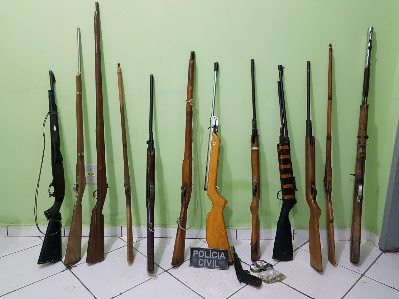Pol cia desmancha oficina clandestina de armas em pio ix for Oficina armas lanzarote