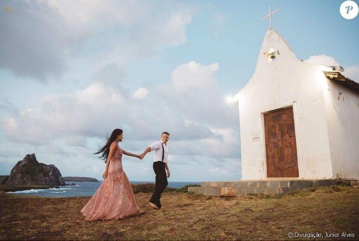 Munik Nunes e o noivo, o empresário Anderson Felício  (Crédito: Junior Alves)