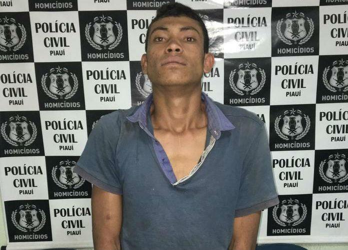 Francinaldo dos Santos Batista, acusado de matar o advogado (Crédito: Polícia Civil)