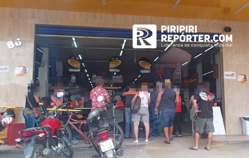 MP multa supermercado em R$347 mil por descumprir medidas sanitárias no Piauí 2