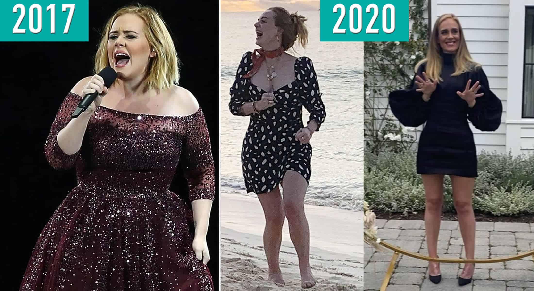 Adele reaparece super magra - Ela perdeu 45 kg em pouco