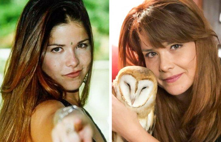Confira, em 20 fotos, o antes e depois dos atores do