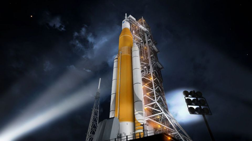 Foguete Space Launch System (SLS)